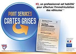 point service carte grise