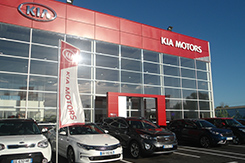 stock occasion Kia